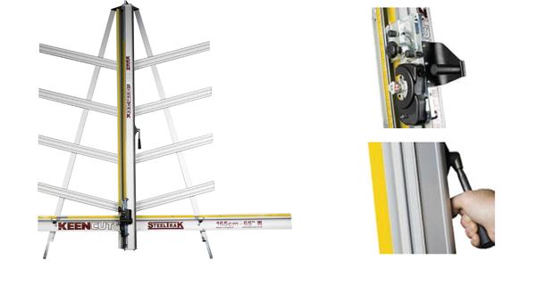 Резак STEELTRACK  Вертикальный резак для раскроя листовых материалов  STEELTRACK рассчитан на профессионалов POS и сайн индустрии.